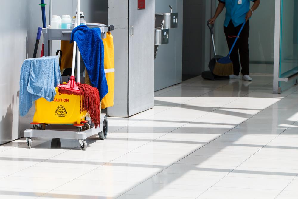 Service de nettoyage pour copropriété